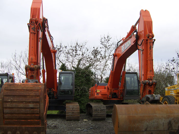 Demolition services dublin muck clearance site